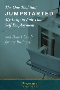 Anyone who has dreamed about, is in the process of, or successfully made the leap to full-time self employment knows it can be a scary jump.