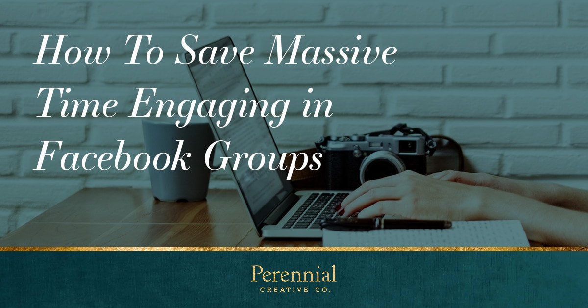 Save massive time engaging in Facebook groups and engage more with the topics that actually matter to you and your business.