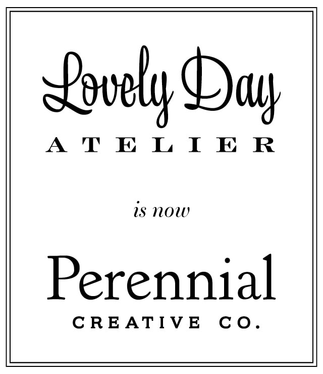 Why I changed my company name after 5 years in business to Perennial Creative Co. to suit the spirit of the work I do for my clients.