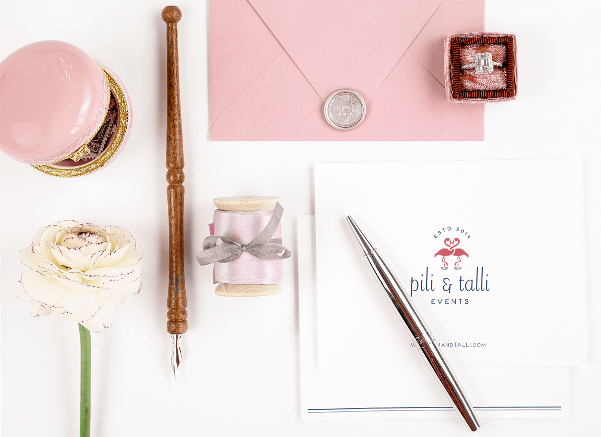 Pili & Talli Events is a wedding & event planning business and after a few years in business, working with a ready-made logo purchased off Etsy, they felt ready to invest in their branding design in order to reach more of their ideal clients and grow their business.
