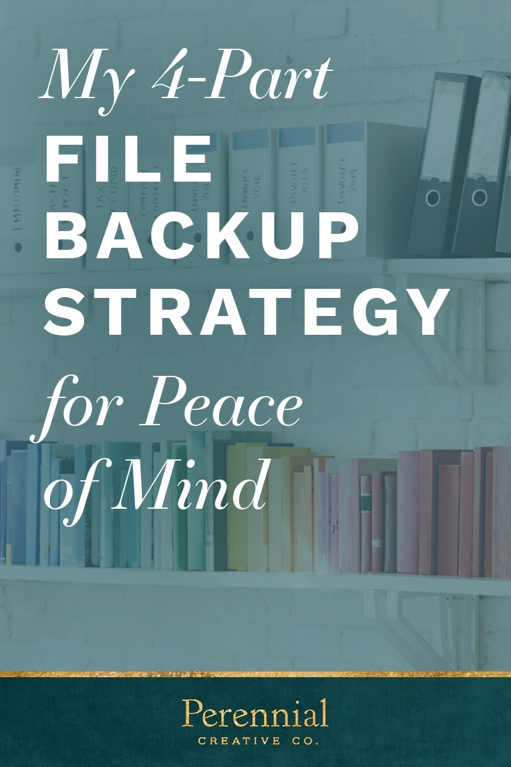 My 4-Part File Backup Strategy for Peace of Mind | Perennial