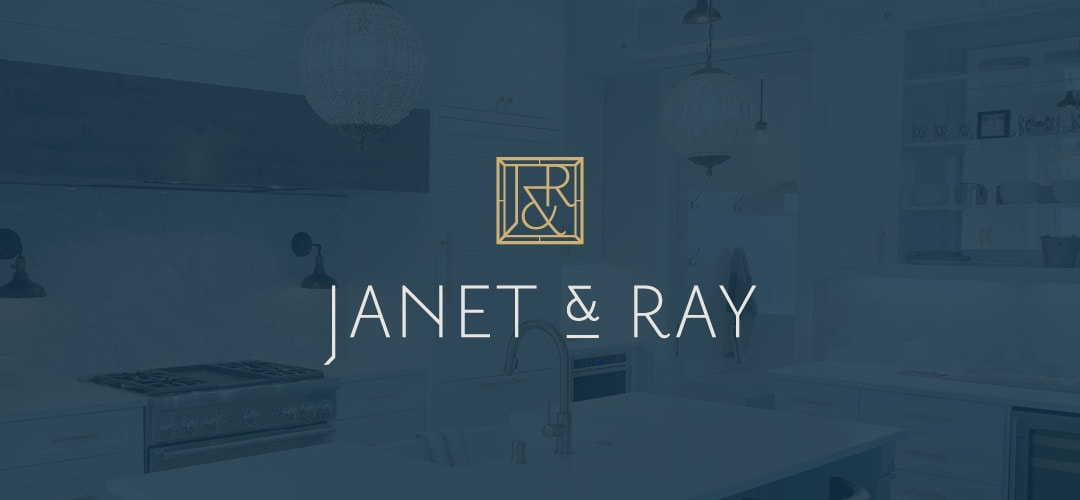 Janet and Ray logo design