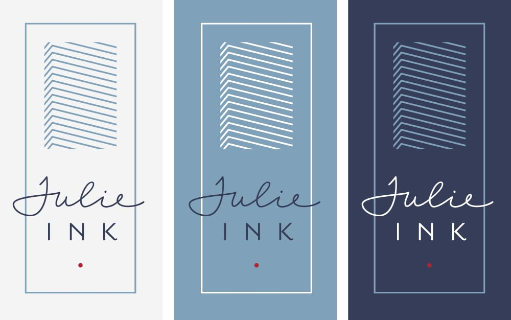 Julie Ink Logo Design 1