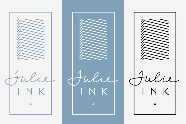 Julie Ink Logo Design 10