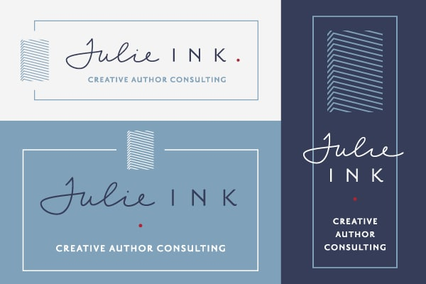 Julie Ink Logo Design 9