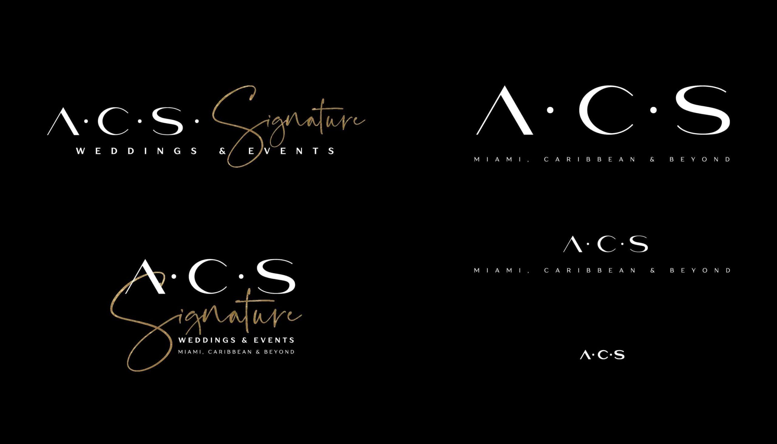 5 ACS Logo Configurations
